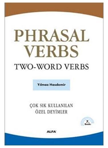 Alfa Phrasal Verbs Two Word Verbs Renkli